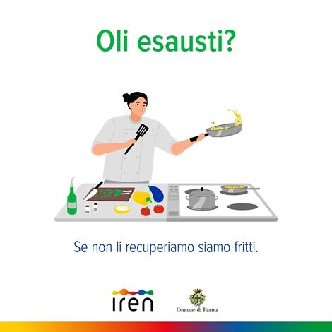 raccolta oli alimentari Parma