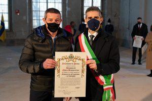 Luca Pini, 46 anni, commerciante