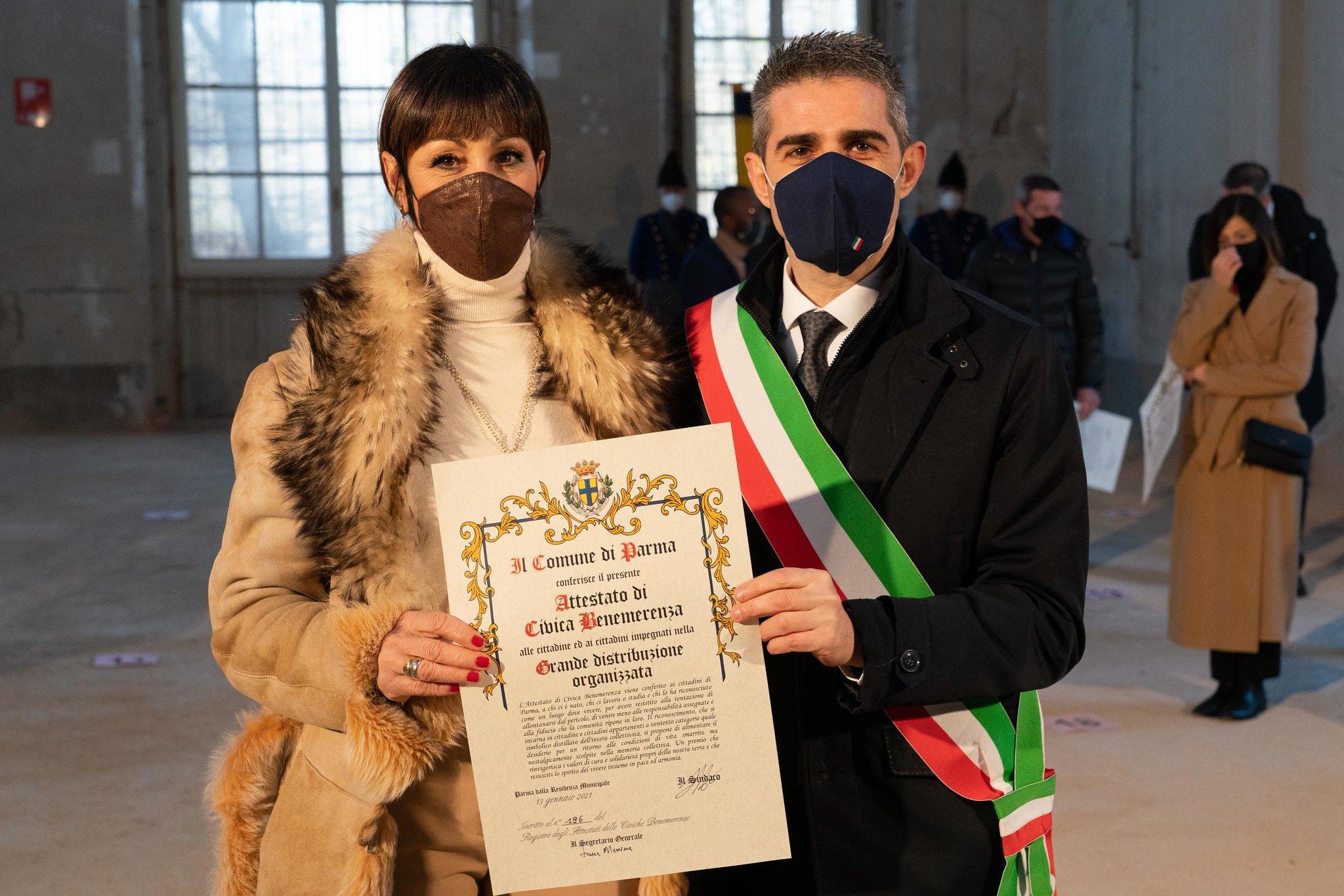 Sandra Azzolini, 56 anni, cassiera